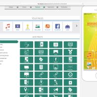 FullBlownApps Features Screen
